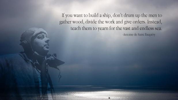 Antoine De Saint Exupery Quotes Images: Quote Of The Week