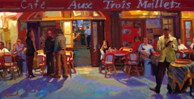 Aux Trois Maillets by Nick Paciorek
